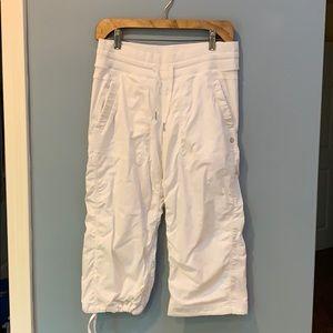 Lululemon Cropped White Dance Pants